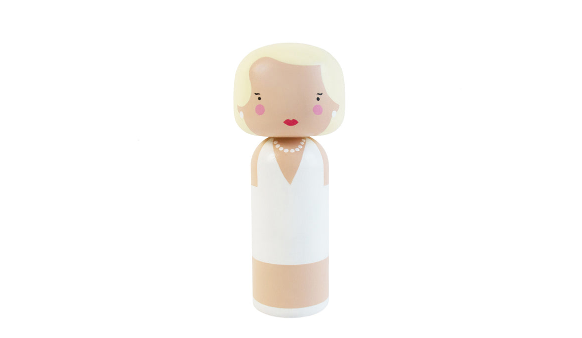 Marilyn Kokeshi Doll