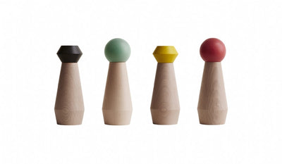 OYOY MY Salt & Pepper Mill (Yellow Top)