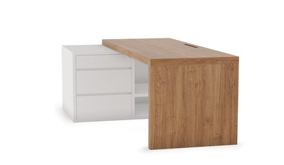 Inge Extendable Study Table | Oak