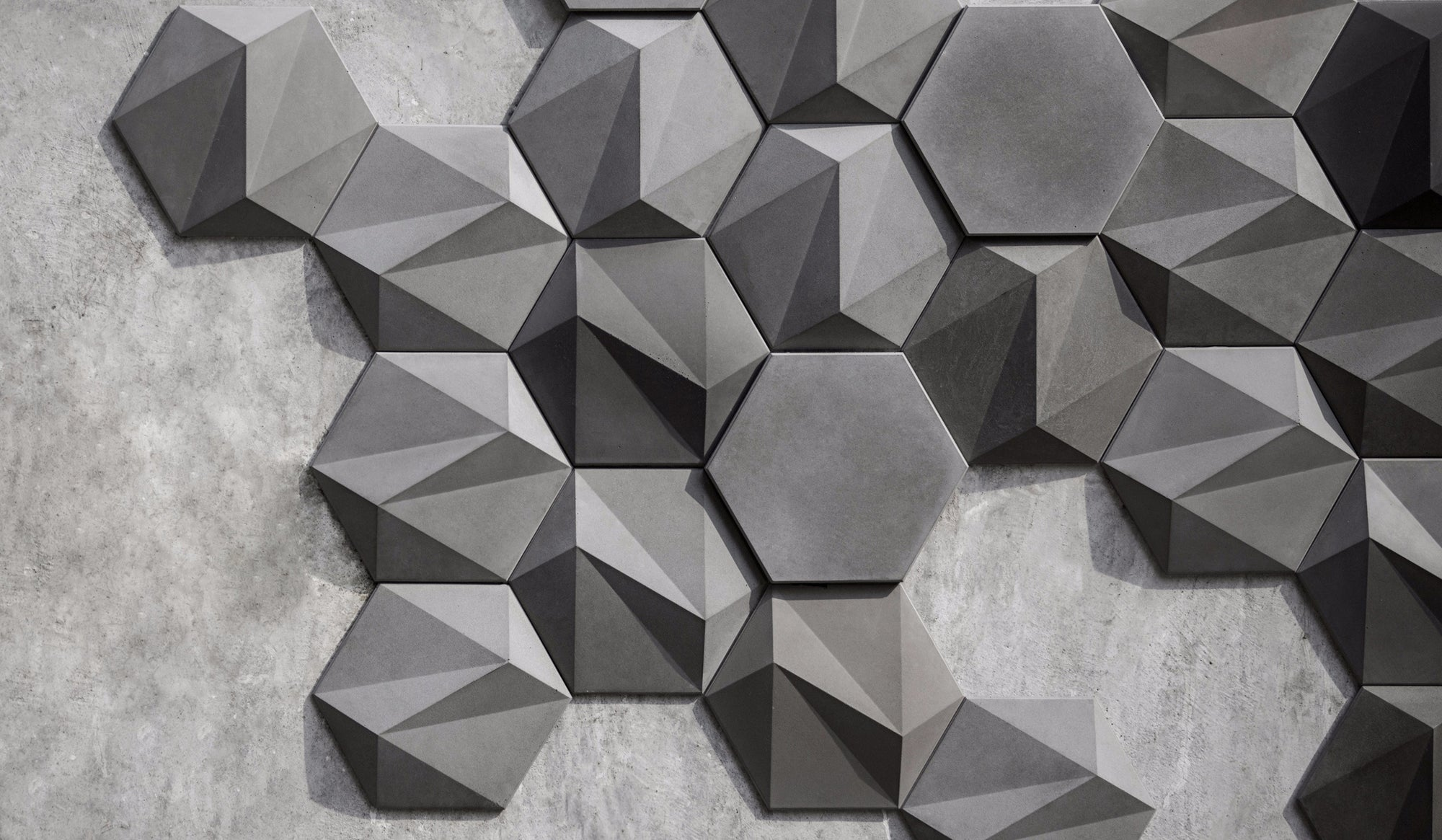 SAN Concrete 3D Wall Tile