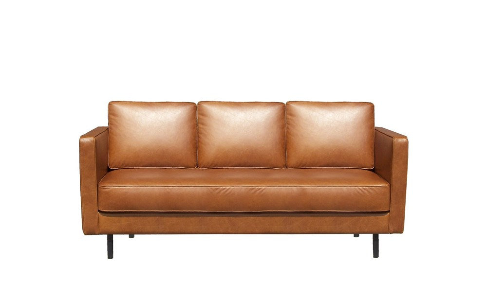 Old Saddle 3 Seater Sofa | Leather