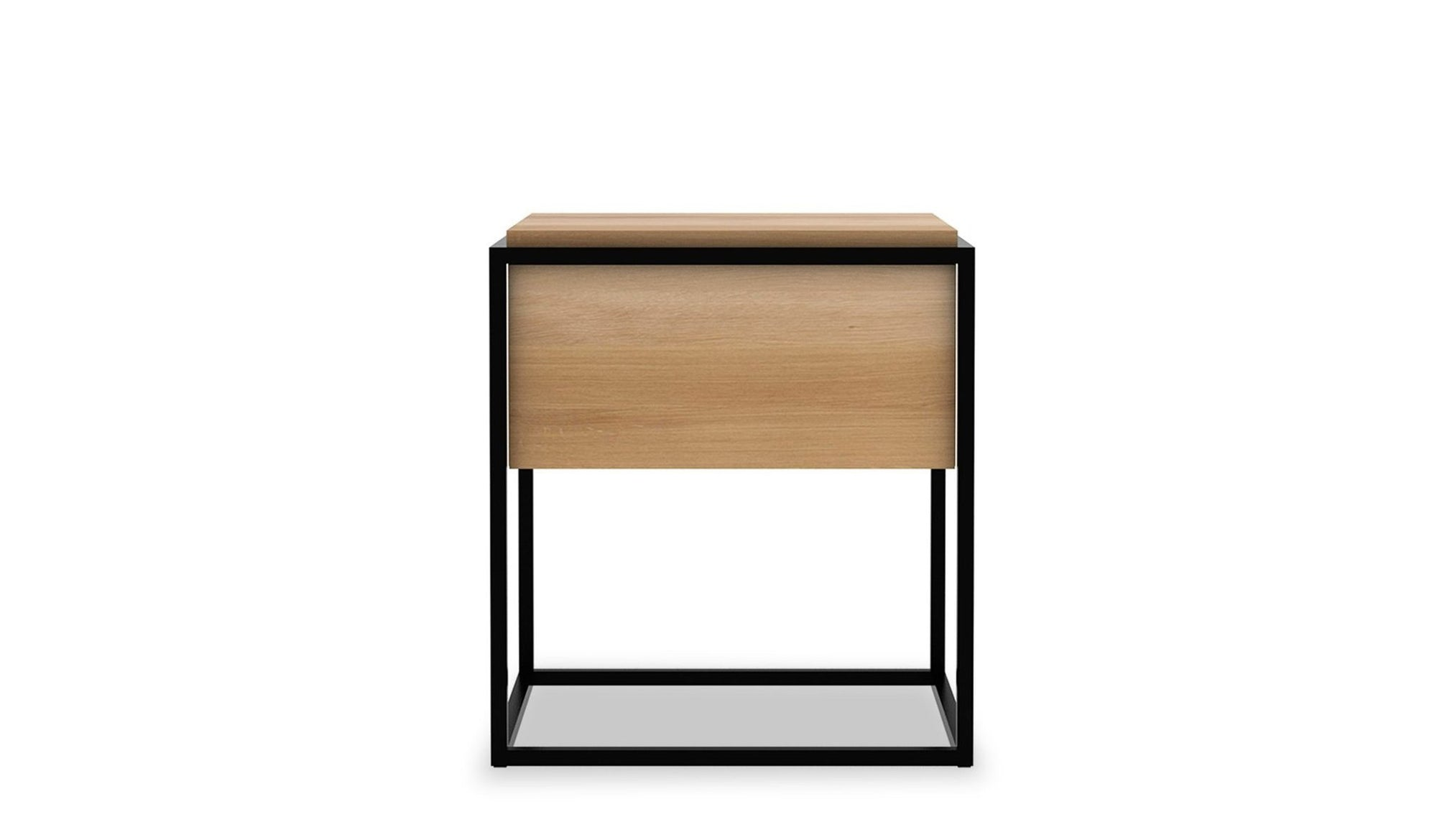 Monolit Oak Bedside Table | 1 Drawer