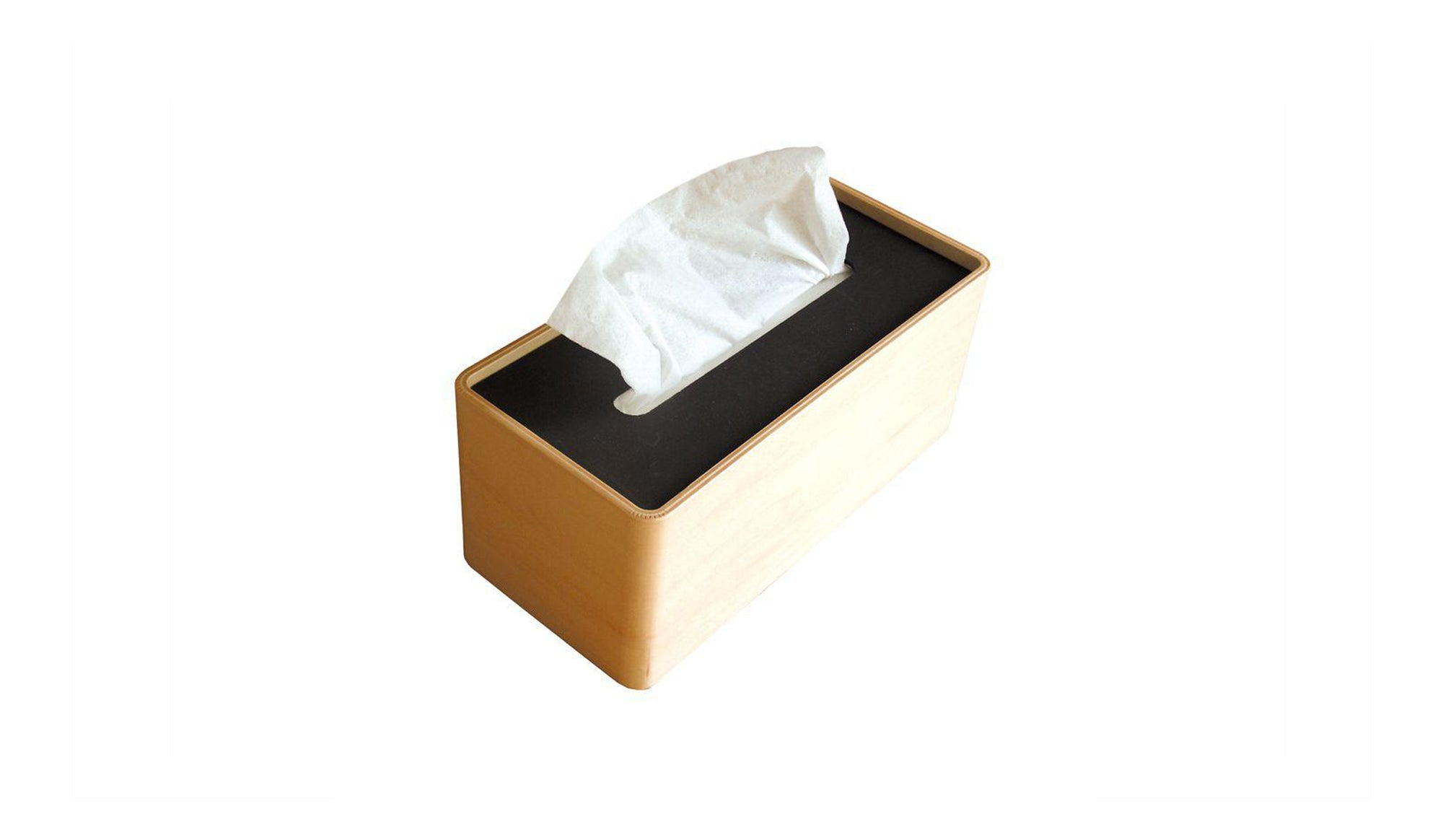 Bicolore Tissue Box Holder