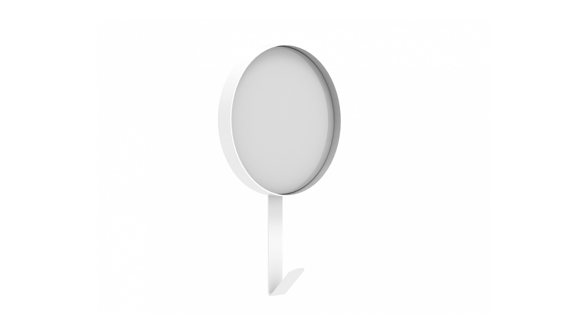 Universo Positivo Hook Mirror - White