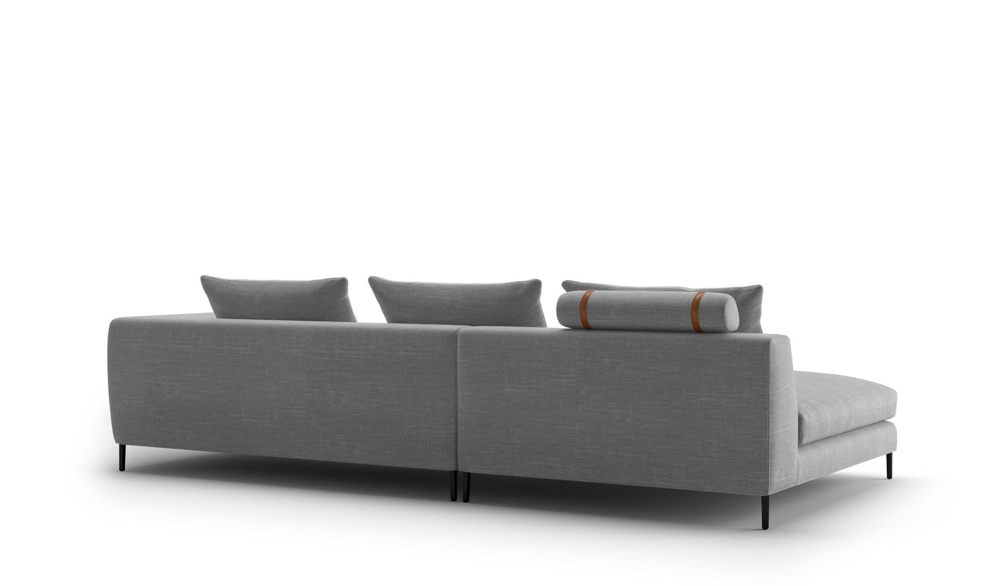 Peak Sofa | 3.5 Seater Left Chaise Diara Mist