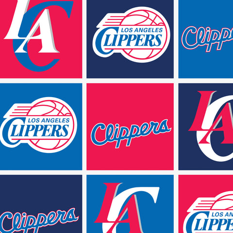 Los Angeles Clippers Fleece Fabric
