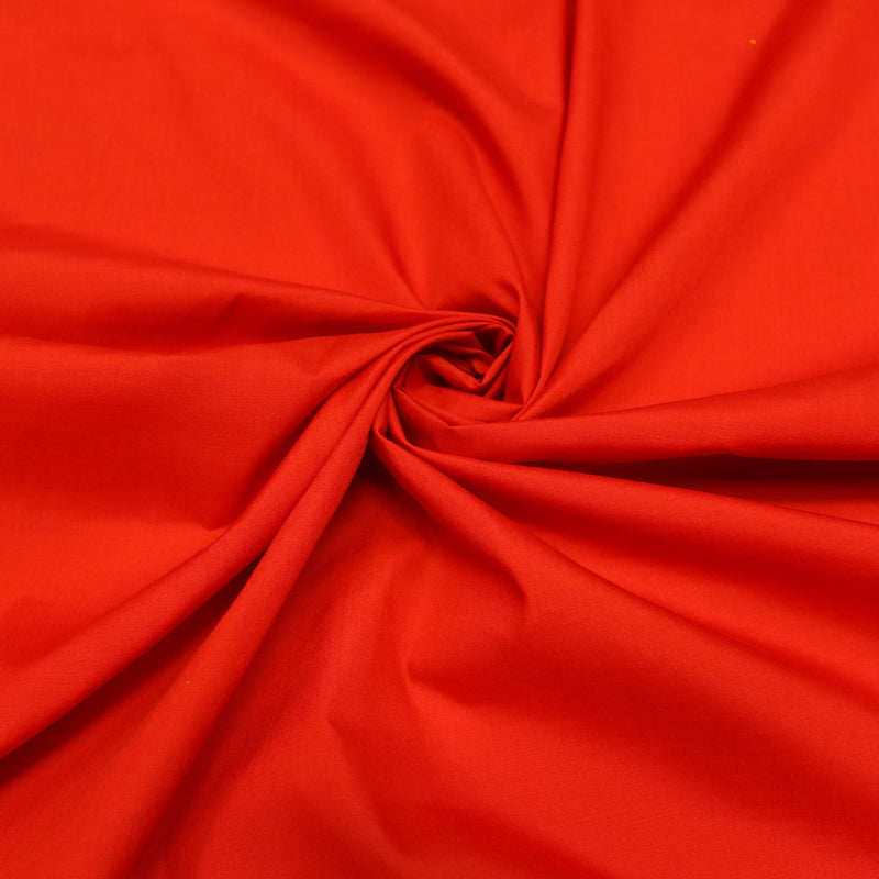 Solid Poly Cotton Fabric