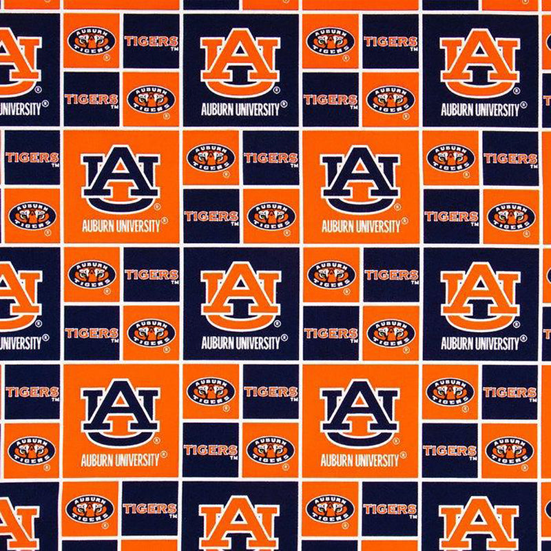 Auburn University Tigers | Cotton Fabric