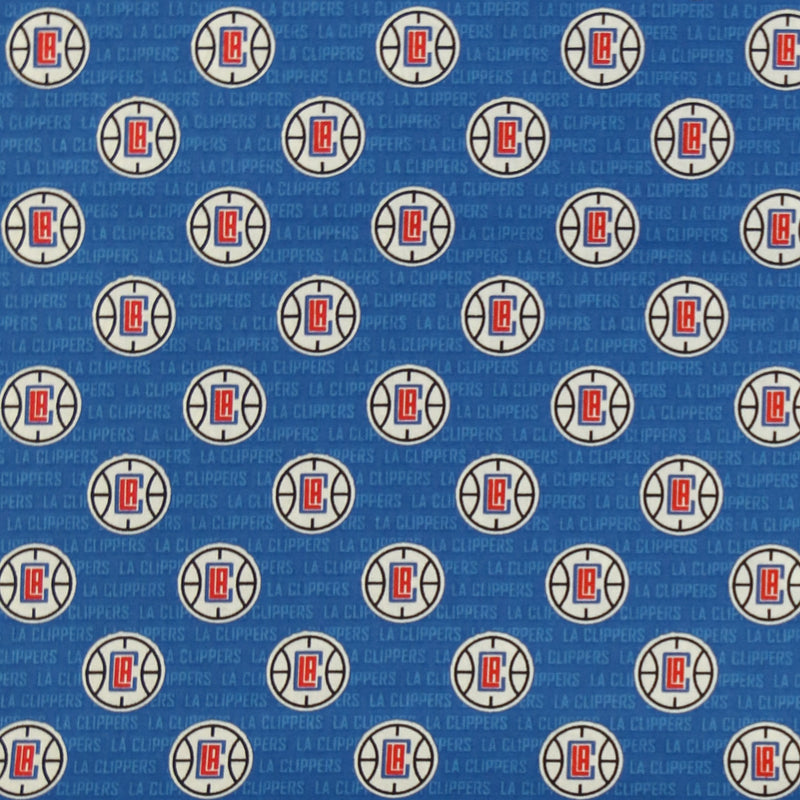 Los Angeles Clippers | Cotton Fabric