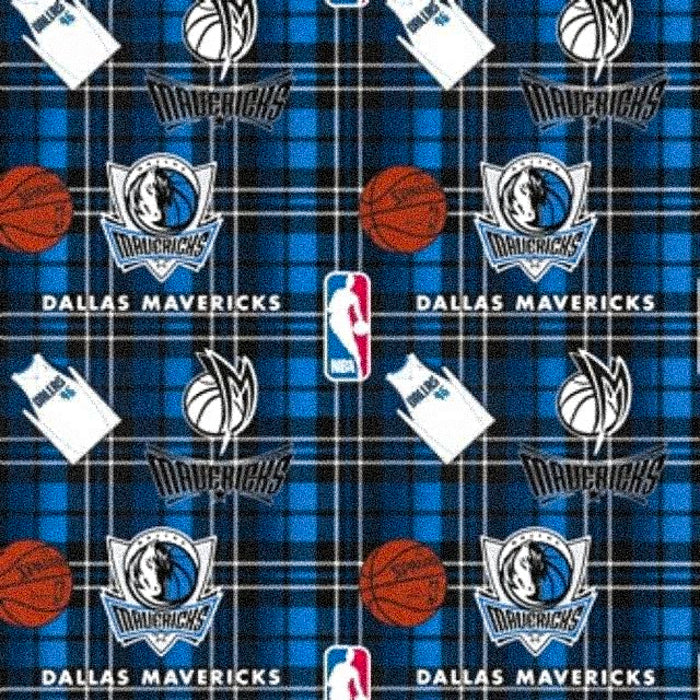 Dallas Mavericks | Fleece Fabric
