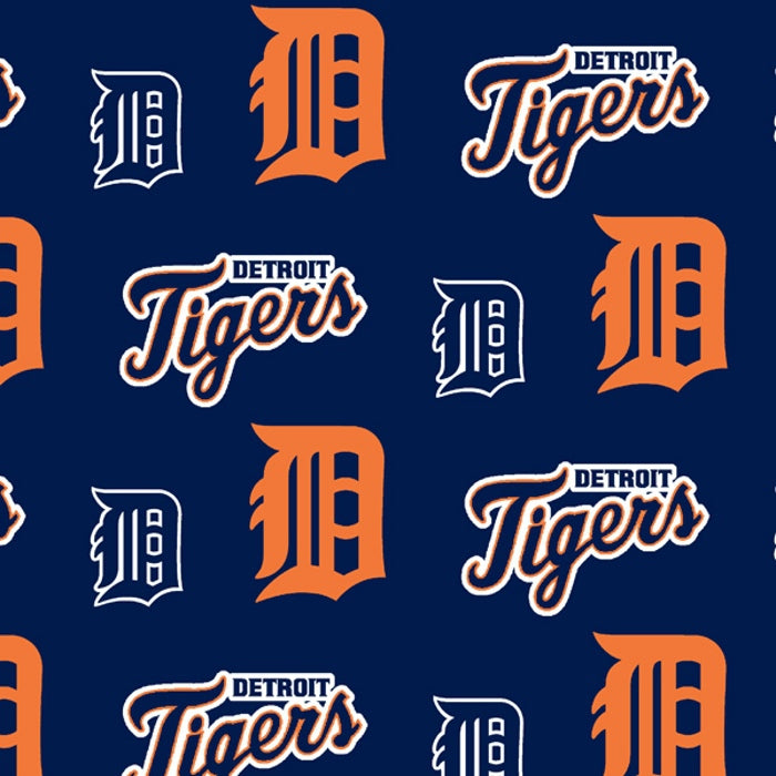 Detriot Tigers | Fleece Fabric