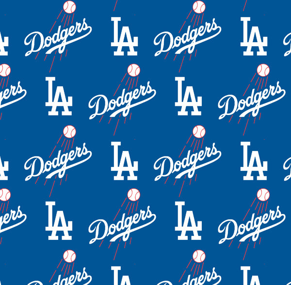 Los Angeles Dodgers | Cotton Fabric