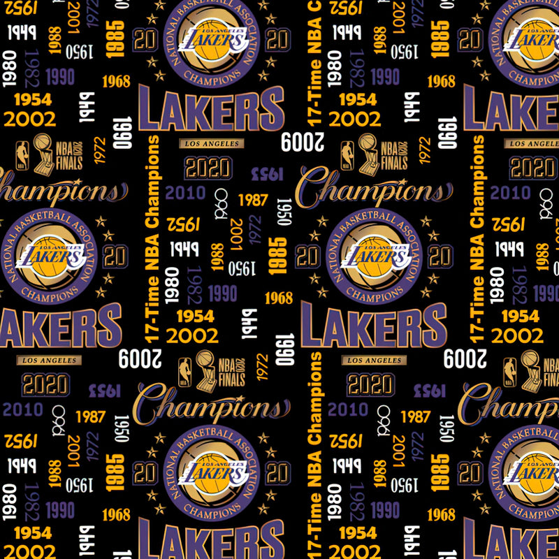 Los Angeles Lakers Championship | Cotton Fabric