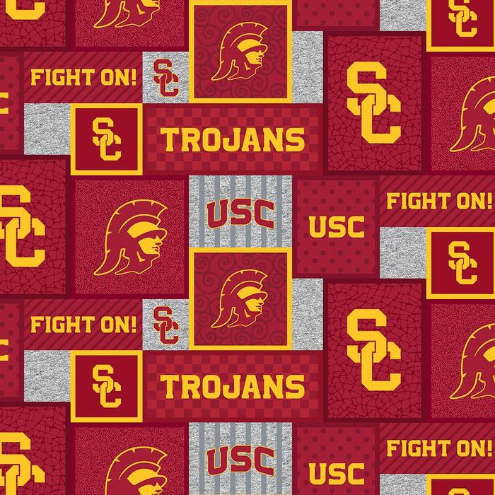 USC Trojans | Fleece Fabric