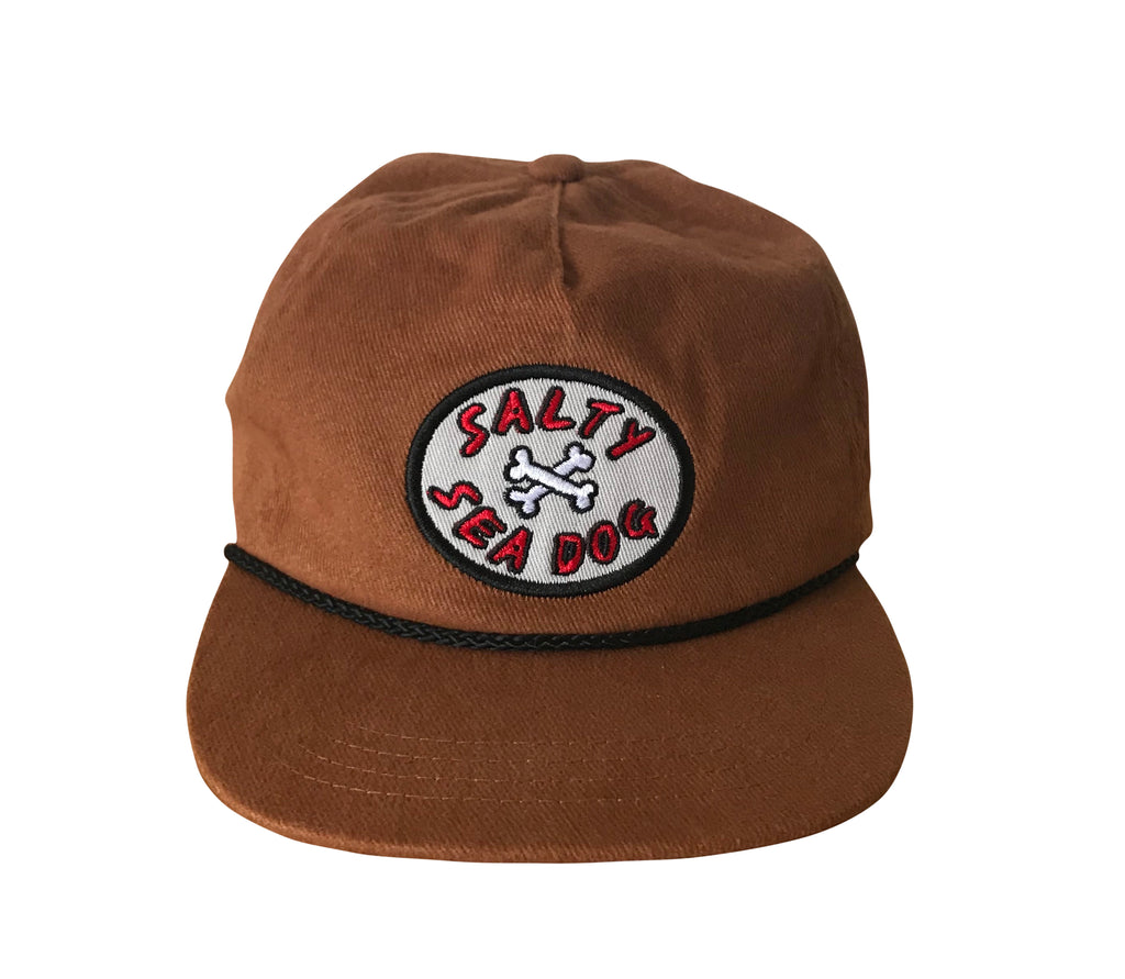 'Salty Sea Dog' Tan Cap