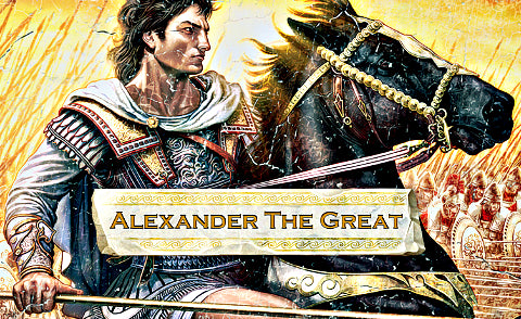 Alexander The Great Beard