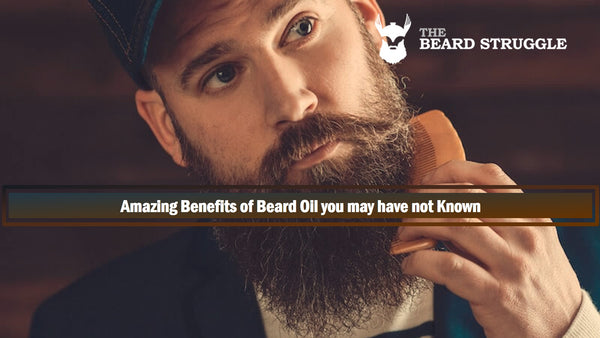 Amazing Benefits of Beard Oil