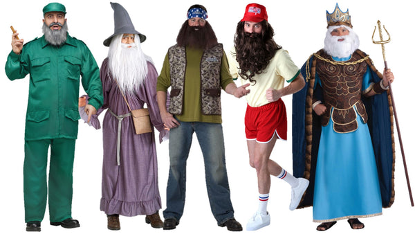 Costumes for Medium to Long Beards