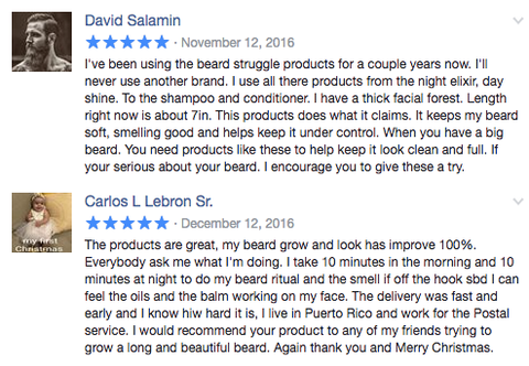 The Beard Struggle Review