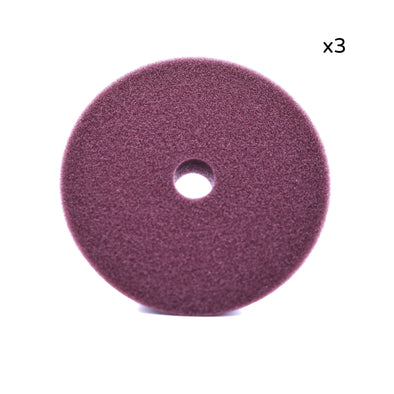 "6"" Maroon Foam Polishing Pad (3 Pack)"