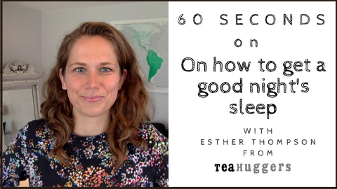 60 seconds on how to get a good night's sleep