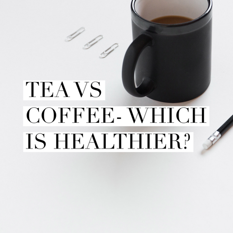 Is tea healthier than coffee