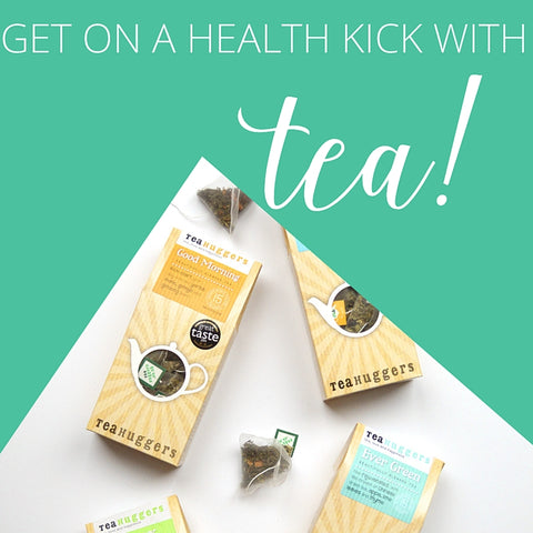 Laura Agar Wilson blogs about Tea Huggers' Health Kick gift box