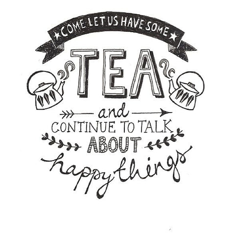Tea Huggers - let's talk about happy things!