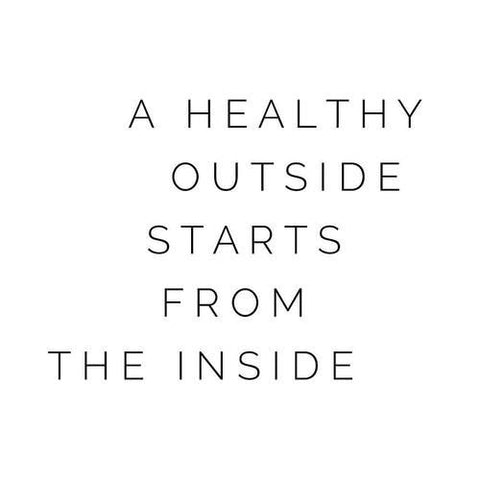 A healthy outside starts from the i