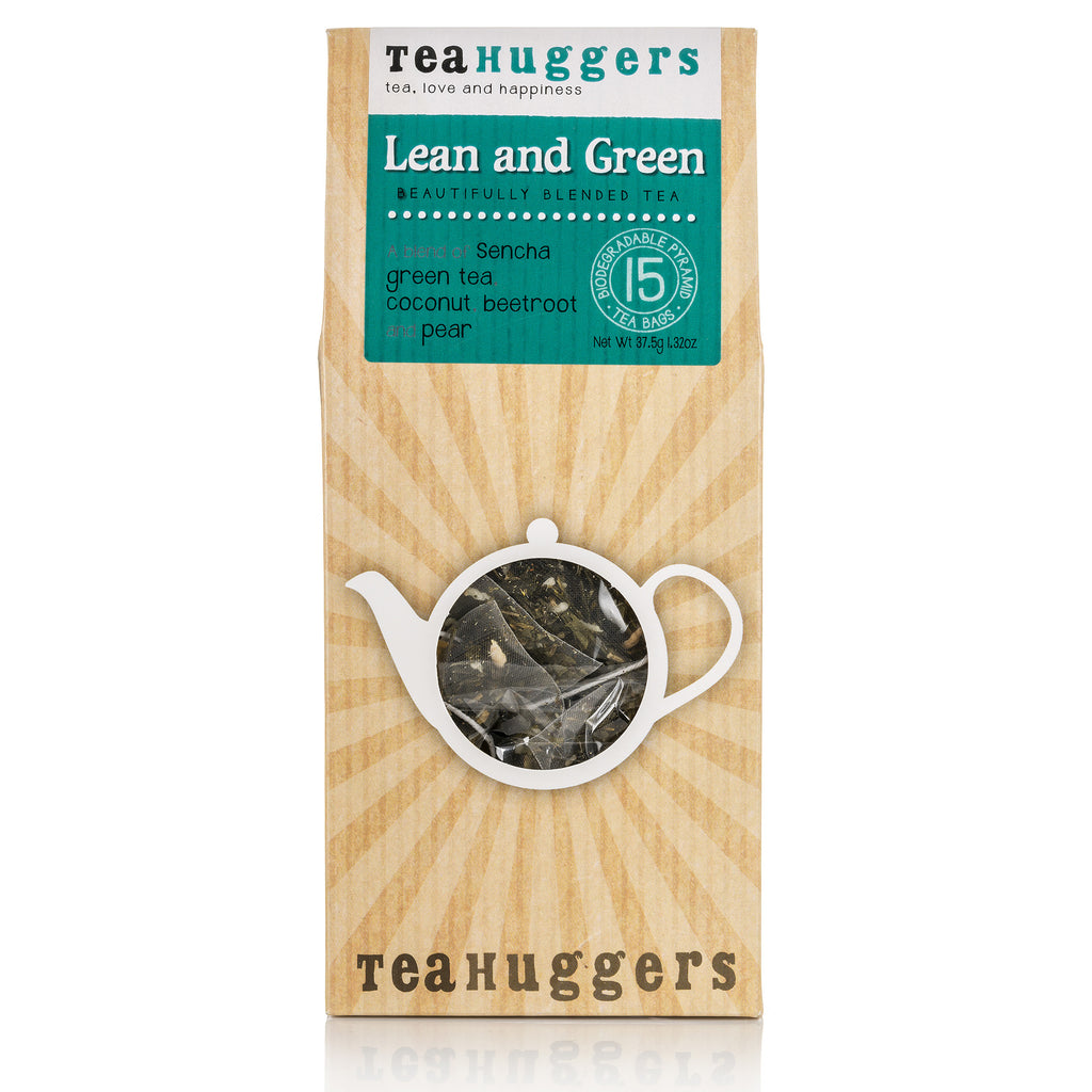 Lean and Green tea  - enjoy our delicious blend of green tea, coconut and pear