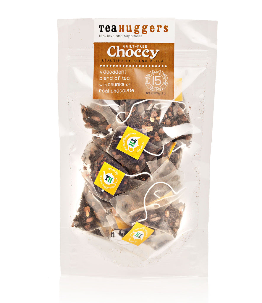 2 x Choccy letterbox teas @ £4.85 each - free UK P&P - Tea Huggers