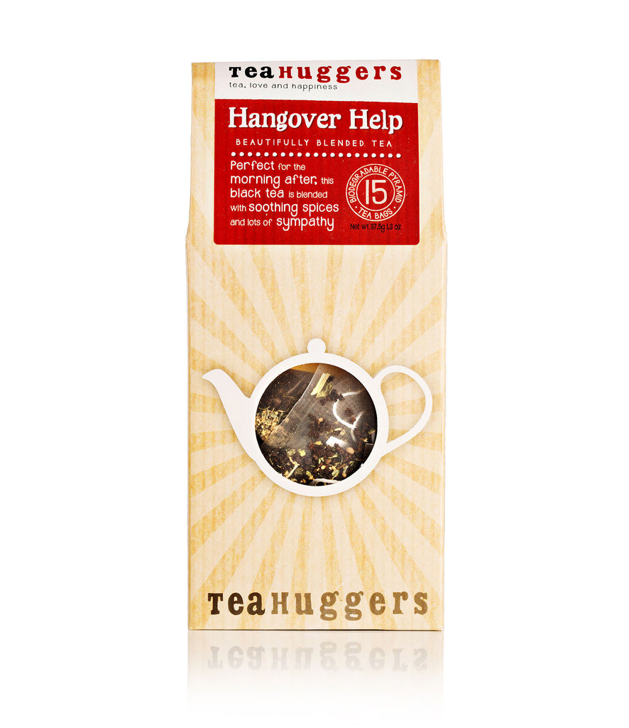 Hangover Help - This black tea is perfect for the morning after - Tea Huggers