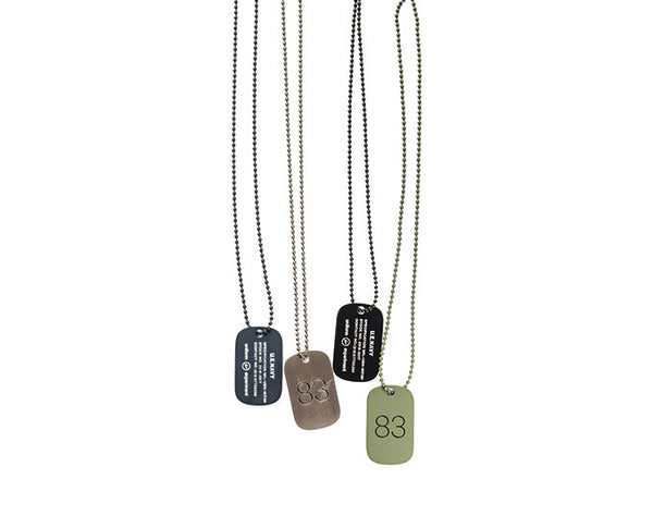 Uniform Experiment Dog Tag Necklace