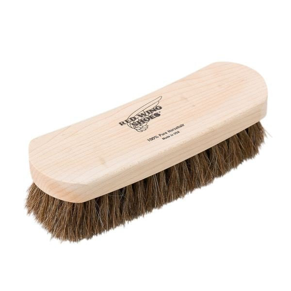 Red Wing Horse Hair Brush