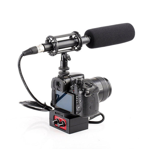 Microphone Recording Bundle on Camera