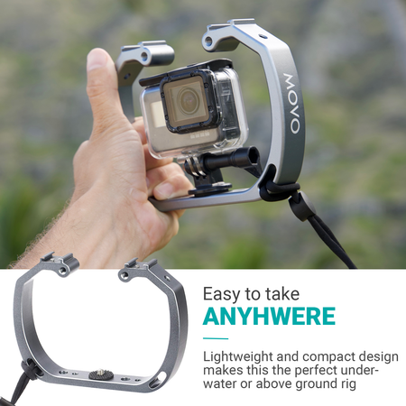 Movo GB-U70 Underwater GoPro Diving Mount