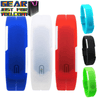 Contemporary Design  Silicone Red LED Touch Sports Digital Wrist Watch