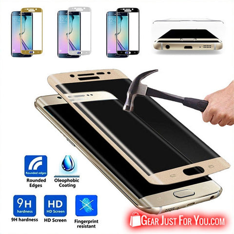 HD Tempered Glass Screen Protector for Samsung S7 Edge Plus/Edge S6 Edge/Edge Plus