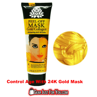 120mL Anti-Aging Moisturizing Oil-Control Acne Treatment Whitening 24K Gold Mask - Gear Just For You.com