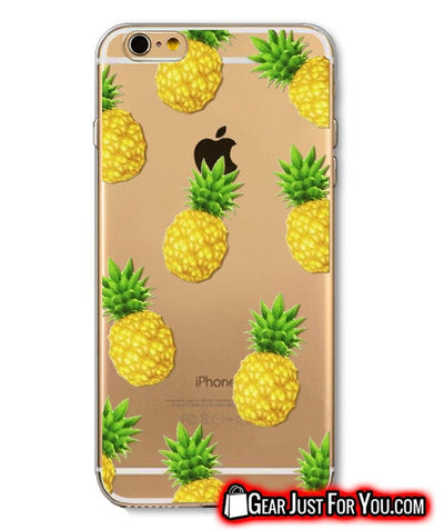 New Stylish Fruit Soft Silicon Clear Case Cover For iPhone - Gear Just For You.com