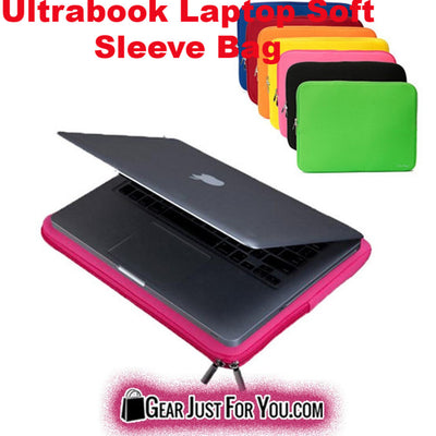 11-15'' Ultrabook Laptop Soft Sleeve Case Bag Cover For Macbook/HP/Dell/Toshiba/ASUS - Gear Just For You.com