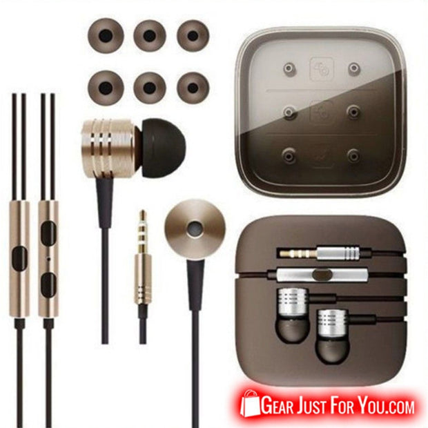 Piston 3.5mm Ear Stereo Earbuds Headphone For iPhone & Samsung - Gear Just For You.com