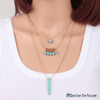 Attractive Fashion Charm Jewelry Crystal Pendant Chain Necklace - Gear Just For You.com