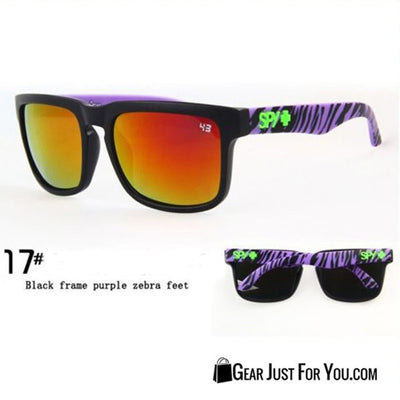 Super Awesome Unisex Outdoor Sunglasses With UV400 Protected Mirrored Lens - Gear Just For You.com