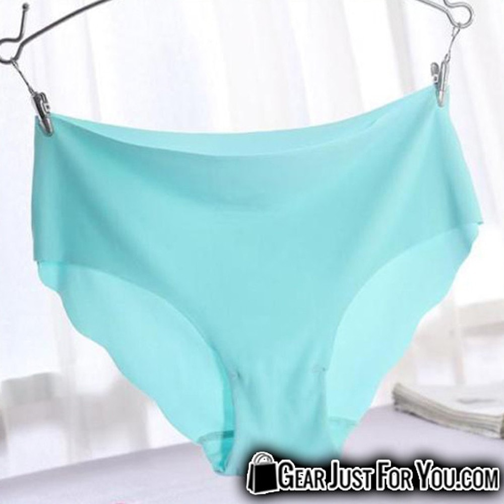a719ee9307a Hot Casual Invisible Seamless Soft Cotton Underwear Panties For Ladies