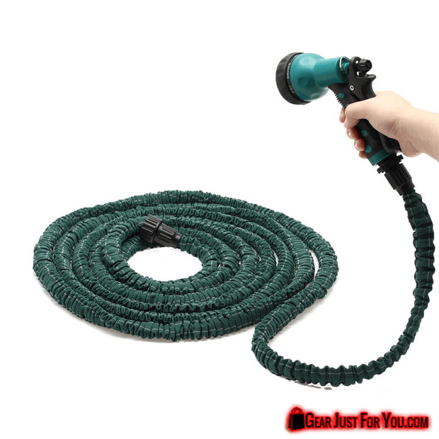 High Quality Deluxe Expandable Garden Water Hose with Adjustable Spray Nozzle