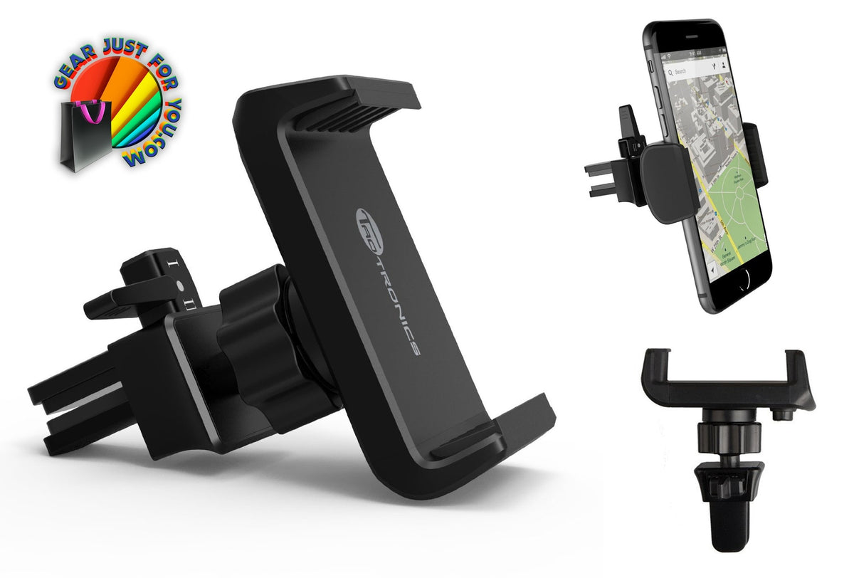 Air Vent One Click Release Car Mount Holder for Smartphones - Gear Just For You.com