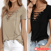 Most Comfortable Cotton Blend Loose Pullover Short Sleeve Tops T-Shirt - Gear Just For You.com
