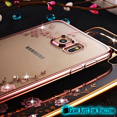 Crystal Diamond Ultra Thin Soft TPU Clear Case Cover For Samsung - Gear Just For You.com