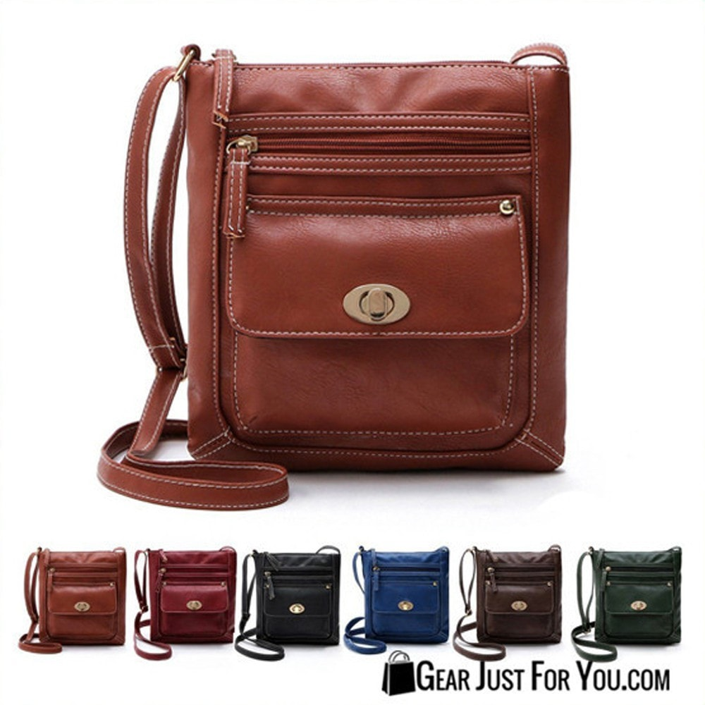 Leather Shoulder Crossbody Handbag Satchel Purse for Women - Gear Just For You.com
